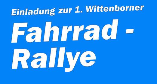 Fahrrad – Rallye: 1. Juli, 12:00 Uhr, Feuerwehrhaus