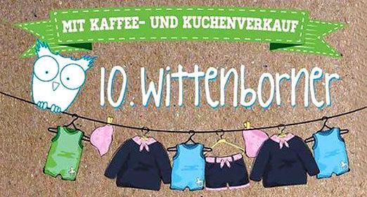 10. Wittenborner Kleider- und Kinderspielzeugmarkt: 2. September, 10:00 Uhr, Sportlerheim